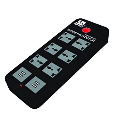 Mercury Surge Protector With 4 USB Ports