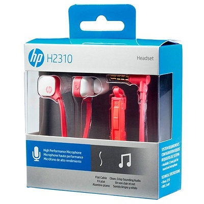 HP Coral In Ear Headset - H2310