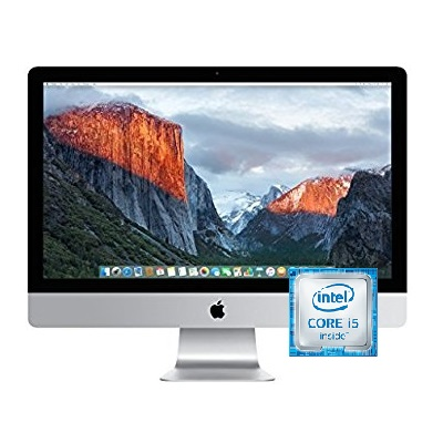 APPLE iMac Intel Core i5 Desktop 8 GB RAM 1 TB Hard Drive 27 Inch MacOS X - Recertified
