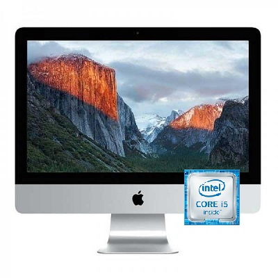 APPLE iMac Intel Core i5 Desktop 8 GB RAM 1 TB Hard Drive 27 Inch macOS Sierra - Recertified
