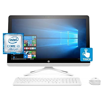 HP 24 - E015XT Intel Core i3 All in One Desktop 23.8 Inch 8 GB RAM 1 TB SATA