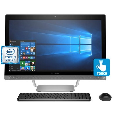 HP Pavilion 27 R045QE All In One Intel Core i7 Desktop 27 Inch 16 GB RAM 2 TB SATA - Recertified