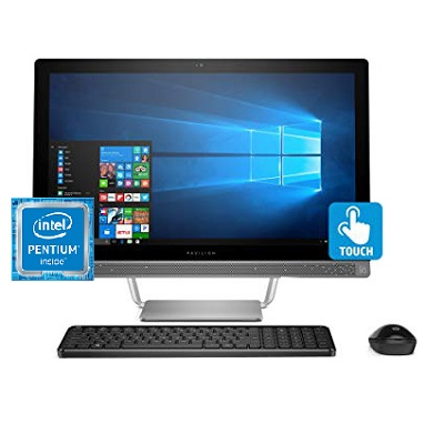 HP 24 - G222DS All In One Inter Pentium Desktop 23.8 Inch 8 GB RAM 1 TB SATA - Recertified