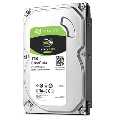 Seagate Barracuda Internal Desktop 1 TB Hard Drive