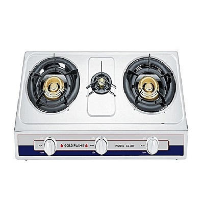 Binatone Table Top Gas Cooker GC-300 - Gold Flame