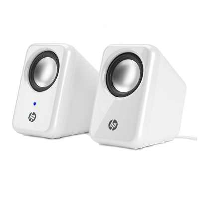 HP Multimedia Speakers - H3W58AA - White