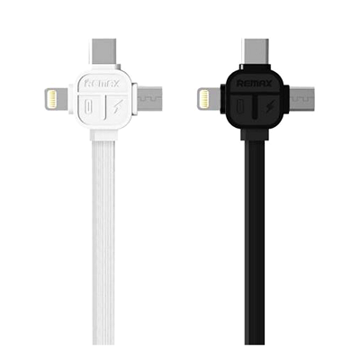 Remax 3 In 1 USB Charging Cable - RC066