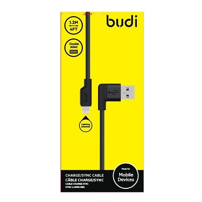 Budi Lightening USB Cable For Iphone - M8J155L