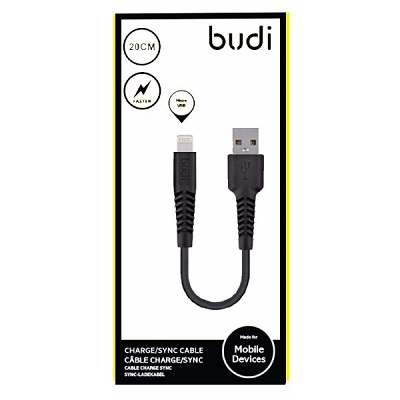Budi Lightning to USB Charger Cable - M8J150L20
