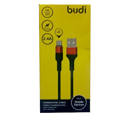 Budi Micro USB Charger Cable - M8J162M