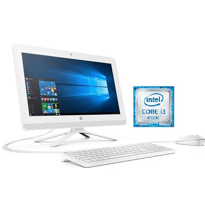 HP 20 - C015NA Intel Core i3 All in One Desktop 19 Inch 4 GB RAM 1 TB Hard Drive