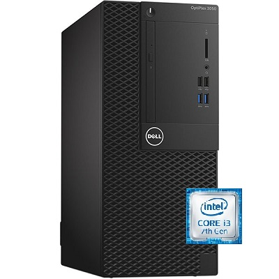 Dell OptiPlex 3050 Intel Core i3 Desktop With Monitor FreeDOS 19.5 Inch 4 GB RAM 500 GB SATA