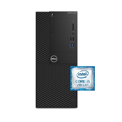 DELL OptiPlex 3050 Intel Core i3 Mini Tower Black Monitor 4 GB RAM 500 GB Hard Drive