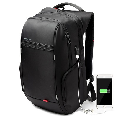 Kingsons Anti-Theft Laptop Backpack 15.4 Inch