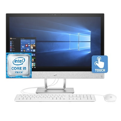 HP Pavilion 24 R019 All In One Intel Core i5 Desktop 24 Inch 12 GB RAM 2 TB SATA - Recertified