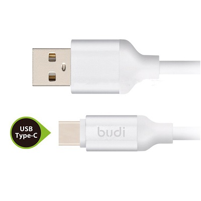Budi Charging USB Cable Type A to Type C Cable - M8J176