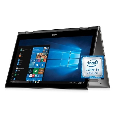 Dell Inspiron 15 I5578 - 3093 Core i3 Laptop 15.6 Inch 4 GB DDR4 SDRAM 500 GB Hard Drive - Recertified