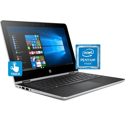 HP Pavilion X360 11M AD113DX Intel Pentium Laptop 14 Inch 4 GB RAM 500 GB Hard Drive - Recertified