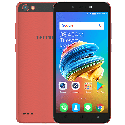 Tecno F3 Android 7.0 Nougat 1 GB RAM 8 GB Internal Memory