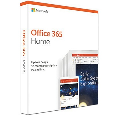 Microsoft Office 365 Home Subscription - 6 Users
