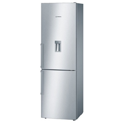 Bosch Series 4 Free - Standing Fridge - Top Freezer With Water Dispenser 349 L Gross KGD36VI305