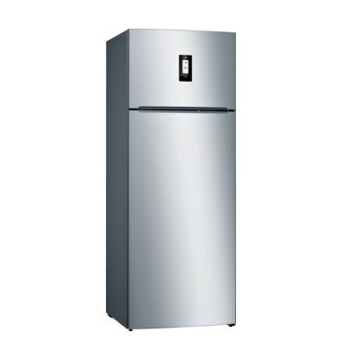 Bosch Series 4 Free - Standing Fridge - Top Freezer Inox 267 L Gross KDV29VL305