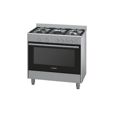 Bosch Series 2 Gas Range Cooker Cast Iron 90 cm HSG734357Z