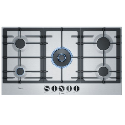 Bosch Gas Hob With Wok Burner 90 cm PCR9A5B90