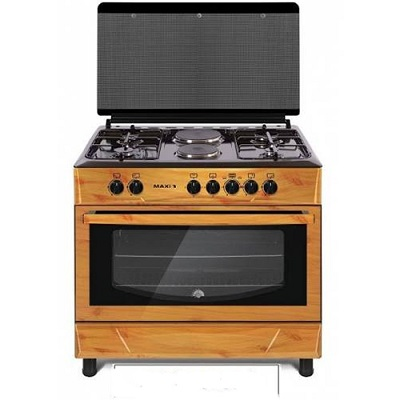 LG Gas Cooker Table Top 4 Burners With 2 Electric Plate GLASS MAXI160LG