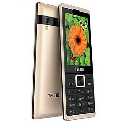 Tecno T528 8 MB RAM 16 MB Internal Memory - Gold
