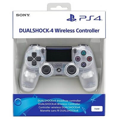 Ps4 Dual Shock Wireles Controler Crystal