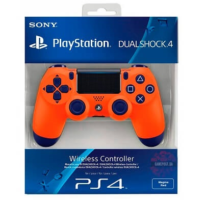Ps4 Dual Shock Wireles Controler Orange