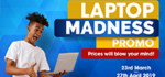 Laptop Madness logo
